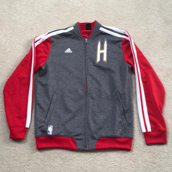 wholesale dealer fe511 a191a Adidas Houston Rockets Warm-up Jacket